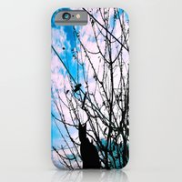 iPhone & iPod Case featuring Blue Shadow Crush by HeartWrist Photography