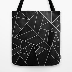 Black Stone Tote Bag