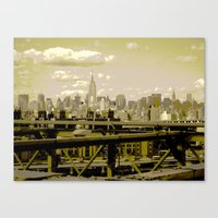 NYC Beauty Canvas Print
