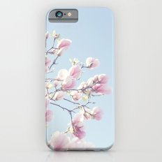 Pink magnolias iPhone 6s Slim Case