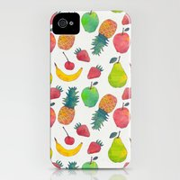 iPhone Cases featuring Fruity by Tracie Andrews