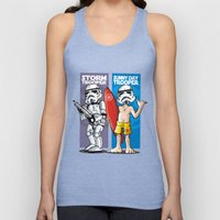 Storm and Sunny Day Trooper Unisex Tank Top