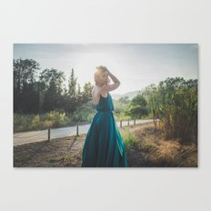 Princesa por un día Canvas Print