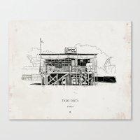 Tigre Delta: Castrol Canvas Print