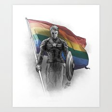 The Standard Bearer Art Print