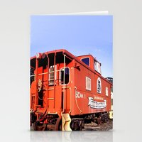Lil Red Caboose -Wellsbo… Stationery Cards