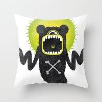 SALVAJEANIMAL Ghost Throw Pillow