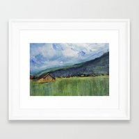 Alpine Trail Framed Art Print
