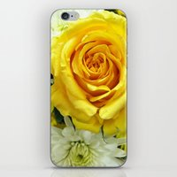 Yellow Flowers iPhone & iPod Skin