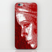 thoughtful woman iPhone & iPod Skin