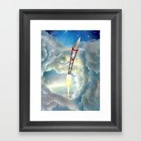 The Remarkable Rocket Framed Art Print