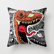 Dominate Throw Pillow