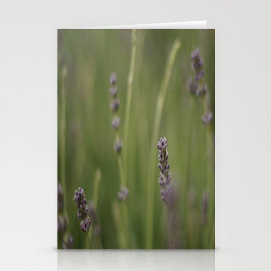Purple Stationery Card