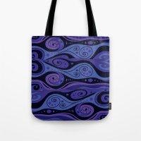 Surreal Waves Tote Bag