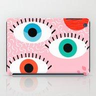 Noob - Eyes Memphis Retr… iPad Case