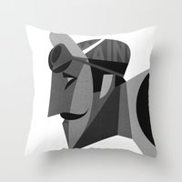 Maino Throw Pillow