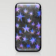 Starry Night {grey} iPhone & iPod Skin