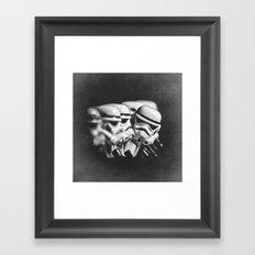 Stormtrooper Lego WTF?!# Framed Art Print