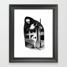 Dead of Night Framed Art Print