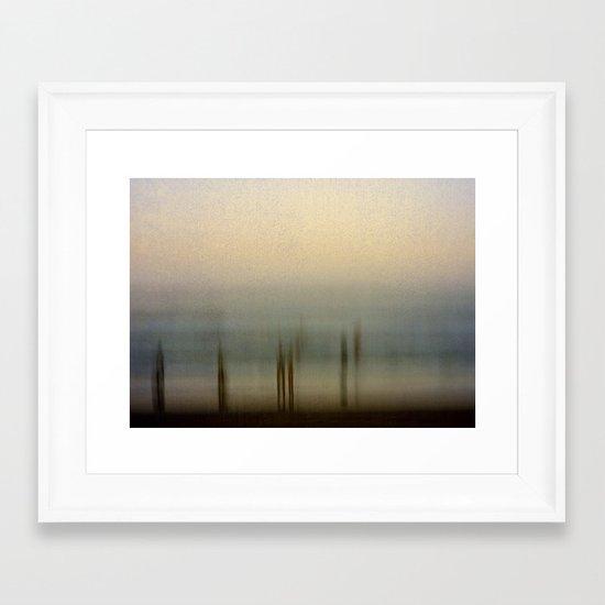 Edge of Reality Framed Art Print