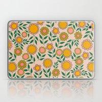 Retro Bloom Light 1 Laptop & iPad Skin