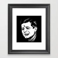 35. Zombie John F. Kenne… Framed Art Print