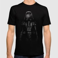 Darth Magritte Mens Fitted Tee Black SMALL
