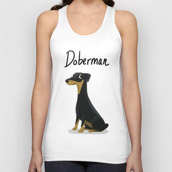 Doberman - Cute Dog Series Unisex Tank Top