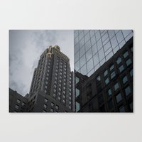 Carbide & Carbon Building Canvas Print