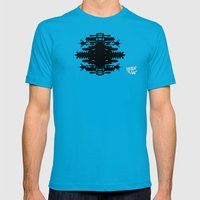 A Template for Your Imagination Mens Fitted Tee Teal SMALL