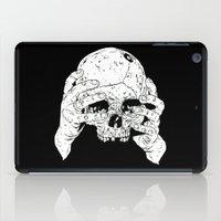 Skull In Hands iPad Case