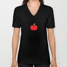 The Essential Patterns of Childhood - Apple Unisex V-Neck