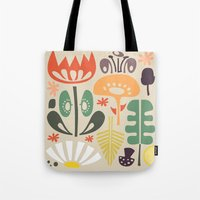 Scandinavian Wildflowers Tote Bag
