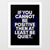 Joel Osteen Quote Art Print