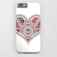83 Drops - Hearts (Red & Black) iPhone 6 Slim Case