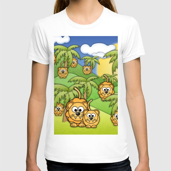 Little Lions. T-shirt