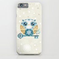 Winter Wonderland Owl iPhone 6 Slim Case