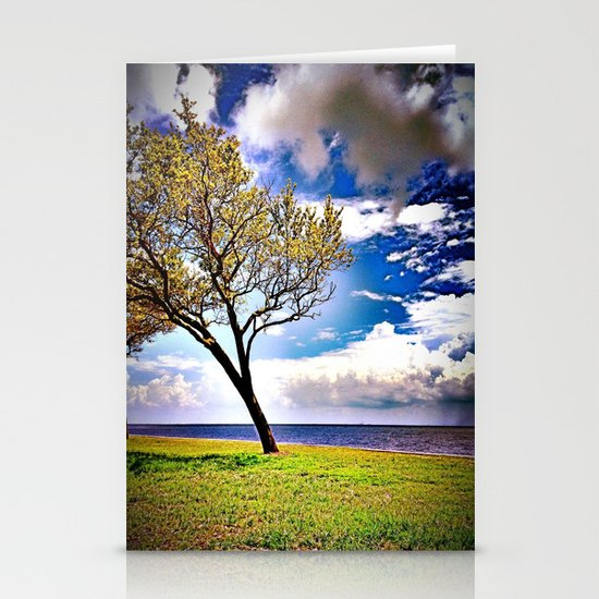 The Crooked Tree Stationery Card
