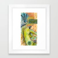 Wisdom In the Dream Framed Art Print