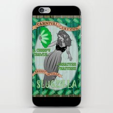 Slug Lady iPhone & iPod Skin