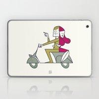 Lovers Hug Laptop & iPad Skin