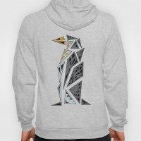 Geometric penguin - dark grey Hoody