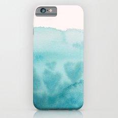 Waves of Love Aqua Slim Case iPhone 6s