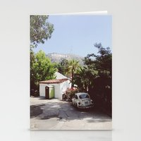 Hollywood, California Stationery Cards