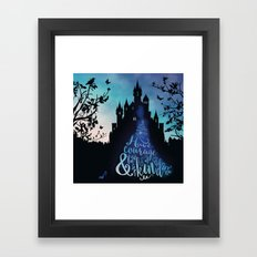 Have Courage And Be Kind… Framed Art Print