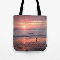 Sunset At Cannon Beach O… Tote Bag