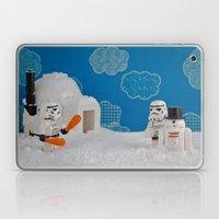 Snowdroid Building On Ho… Laptop & iPad Skin