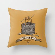Zincirlikuyu Throw Pillow