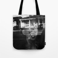 Face Tote Bag