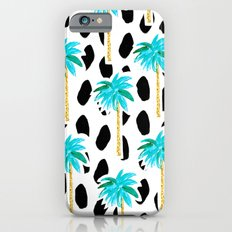 Palm Trees and Dots iPhone 6 Slim Case